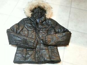 Girl's  Black Dressy Bluenotes Winter Jacket EUC Meduim Cambridge Kitchener Area image 3