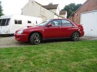Subaru Impreza WRX with Original 265 BHP Prodrive Performance Pack UK car sti no 2003 FSH