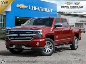 2018 Chevrolet Silverado 1500 High Country 4WD / Power Sunroo...