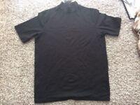 ADPT new mens stylish high neck t-shirt size medium ! Bargain !
