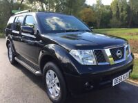 NISSAN PATHFINDER 2.5 DCI 56 REG, AUTOMATIC, 7 SEATER, FULL LEATHER, REVERSE CAMERA