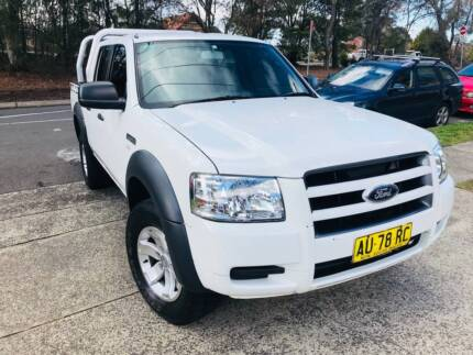 TURBO DIESEL 2008 Ford Ranger Dual Cab POWERFUL MANUAL A1 Sutherland Sutherland Area Preview