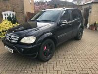 Mercedes Benz ML 2003 SPARES & REPAIRS ovno