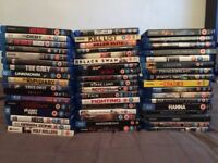 JOB LOT OF 52 BLU-RAYS