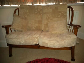 Vintage Cottage style 2 seat Sofa