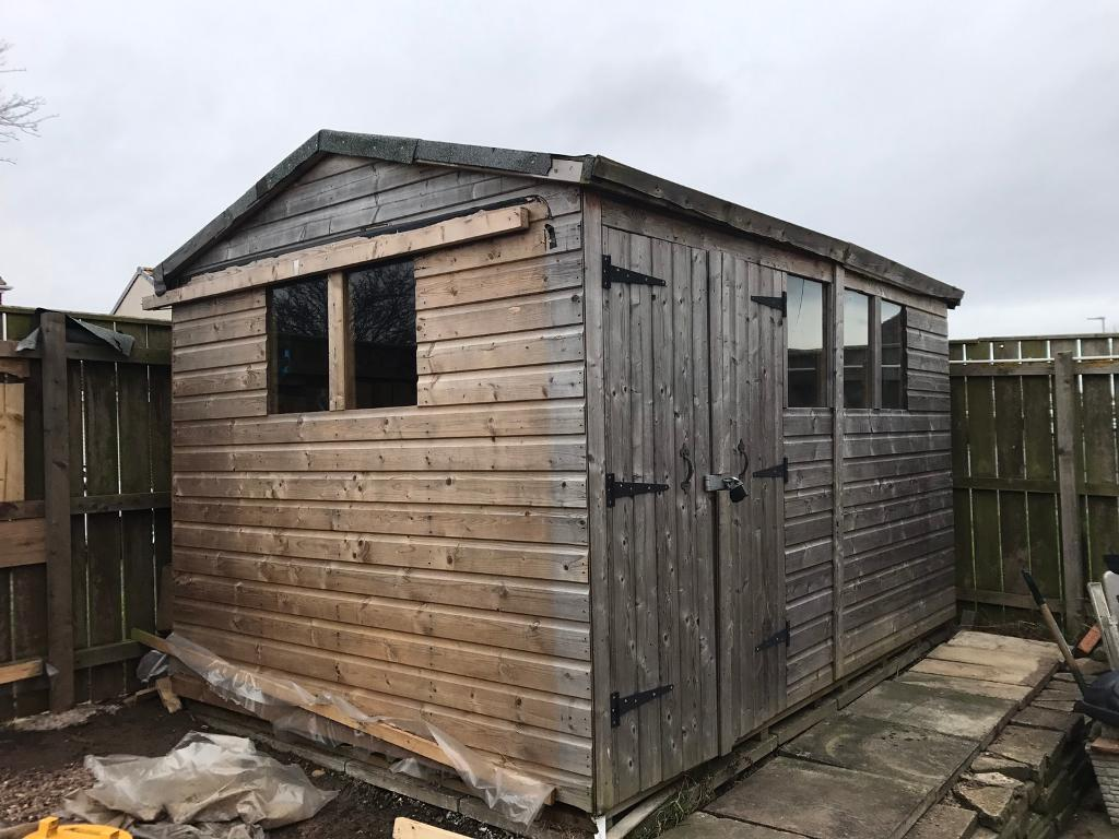 12x8 12 X 8 Garden Shed In Hartlepool County Durham