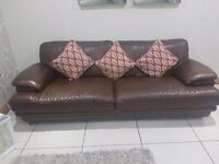 3/2/1 Genuine real leather suite
