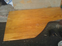 Pine boarding 32mm thick 170 cm x 97 cm - 2 off