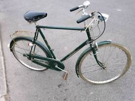 VINTAGE/RETRO RALEIGH SUPERBE GENTLEMAN'S BIKE, PASHLEY ROADSTER