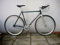 Fixie/Single Speed/ Track Bike by Viking, Grey, Great Condition!! JUST SERVICED / CHEAP PRICE!!!!!!