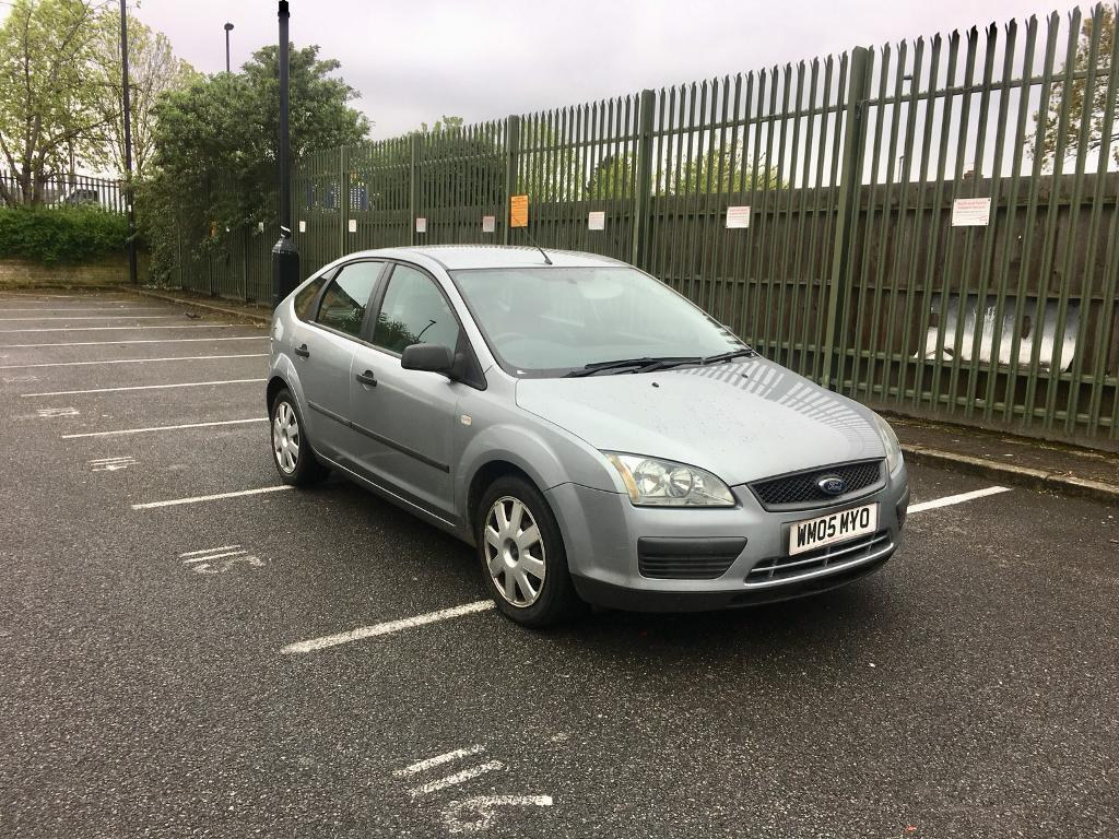 2005 FORD FOCUS 1.6 PETROL MANUAL – ONLY 84K WARRANTED MILEAGE, LONG MOT,  SILVER