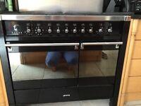 Smog dual fuel range cooker