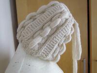 Handmade wool winter hat
