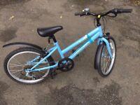 20 inch kids mountain bike - pale blue Terrain Sierra - in excellent condition