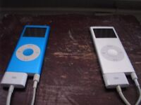 2 Faulty iPod Nano 2nd Generation 4Gb