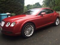 Continental GT Stunning Umbrian Red