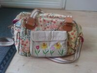 Yummy mummy changing bag (blooming gorgeous)
