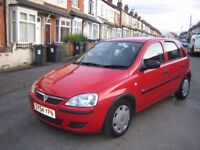 BARGAIN CHEAP CAR MOTOR 54 VAUXHALL CORSA 1.2 LIFE 5DR NEW TIMING CHAIN/11 MONTHS MOT NT FORD FIESTA