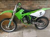 Kawasaki kx 125 cc 2002 not cr yz rm
