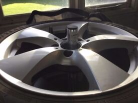Mercedes SLK 200 Sport (AMG 2015) Winter wheels and tyres. Light use and fitted with TPMs