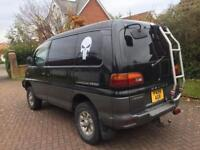 Mitsubishi delica space gear 2.8 turbo diesel automatic exceed 7 seat 4wd