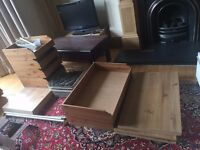 Ikea Komplement and Pax Wardrobe Fittings - rails, drawers, baskets - bargain
