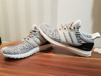 Adidas Ultra Boost UK 9 - Mens Gym Trainers Running Zebra