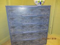 Chest of drawers re-worked by Doffidatt Creations