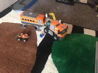 Lego City arctic truck with research base