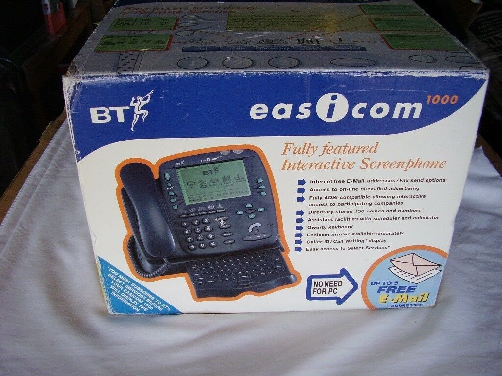 BT 'easicom' Telephone