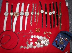 Watches and costume jewellery