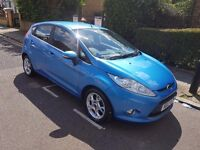 2012 FORD FIESTA ZETEC 1.4 AUTOMATIC 10 MONTH MOT MINT CONDITION ONLY 14000 MILES