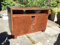Hardwood T.V. cabinet - television cabinet - tv cabinet