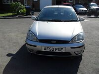 TO CLEAR £275.00 IF GONE TODAY FORD FOCUS 1.6 PETROL ZETEC