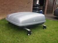 Paddy Hopkirk Continental Roof Top Box. In good condition.