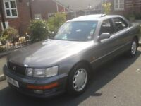 IS THIS THE MOST SERVICED LS400 IN THE UK.K ITS A 1993 MK1 , CHEAP AS CHIPS!