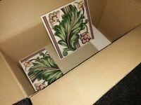 Vintage Floral Tiles