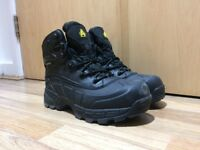 Amblers Waterproof Safety Work Boots Black