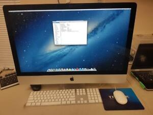 Apple iMac A1419/MD095LL/A 27 inch Display Intel i5 2.9GHz 16GB RAM 1TB nVidia GeForce GTX 660M 512MB Graphic Card