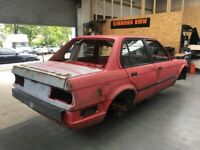 Used, BMW E30 325i M20 4dr Saloon Manual Breaking for Spares Parts - BARE NON ROLLING SHELL AVAILABLE for sale  Livingston, West Lothian