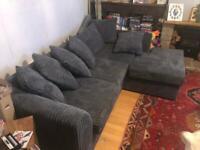 Dylan jumbo cord 4 seater corner sofa NEW