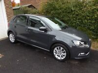 VW New Polo 1.2 TSI petrol, manual. SE trim with Cruise and Park pack. Excellent condition. FSH.