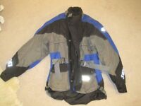 Shoei aventure jacket with Cordura waterproofing, removeable thermal liner Size XS