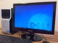 ***GAMING PC Dell T1600 / i5 Quad Core / 8 GB Ram / 1TB HDD / Nvidia Quadro 600 Graphics Desktop
