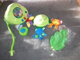Fisher price​ peek-a-boo rain forest mobile