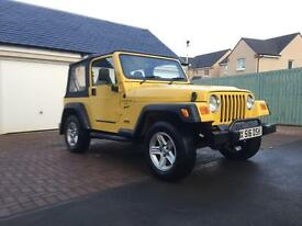 Jeep Wrangler 4.0 Sport Petrol - 31,000 miles from new