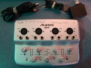 ALESIS -- INTERFACE AUDIONUMÉRIQUE USB -- 313377