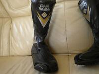 frank thomas motor bike boots size 7