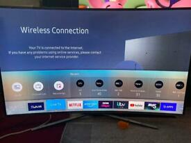 48Inches Samsung 4K LED super ultra hd,has got its original remote and power wire