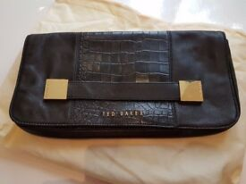 Womens Black Ted Baker Clutch Bag